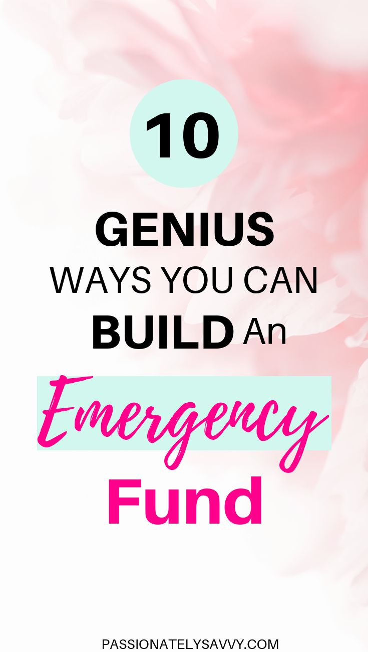 Building An Emergency Fund Isn't Horrible In Fact There Are Ways To Trick Yourself Into Saving Money