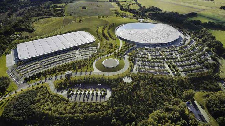 McLaren Production Centre Building by Foster + Partner, Woking, UK