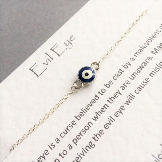 Evil Eye Bracelet Lucky Charm Bracelet Beaded Bracelet Boho