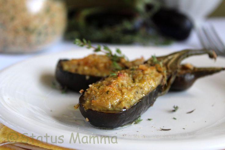 Melanzane piccole ripiene alla Genovese, una ricetta gustosa tipica della Liguria semplice e sfiziosa si prepara con pochi e semplici passaggi.