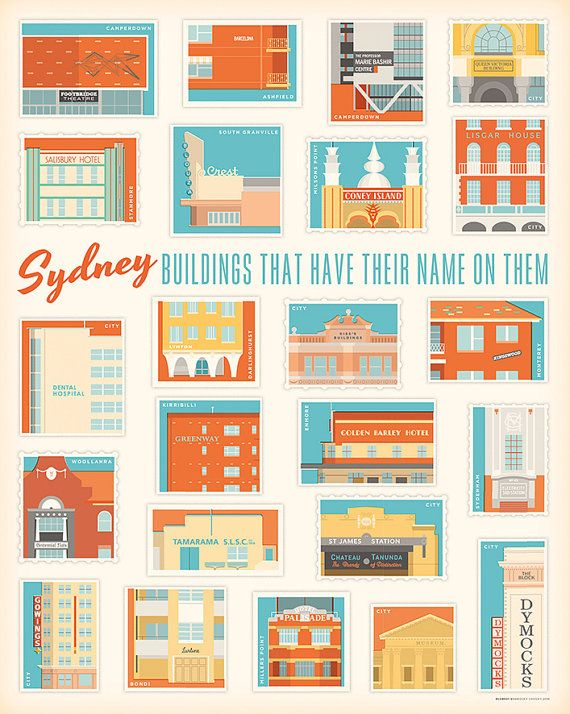 Sydney Buildings That Have Their Name On Them by BarockyChocky