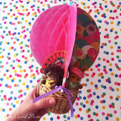 ★La Montgolfière des Petits Malins★ {Printable-DIY} #Printable #DIY #freeprintable #airballoon #SylvanianFamilies #SylvanianDIY #PetitsMalins