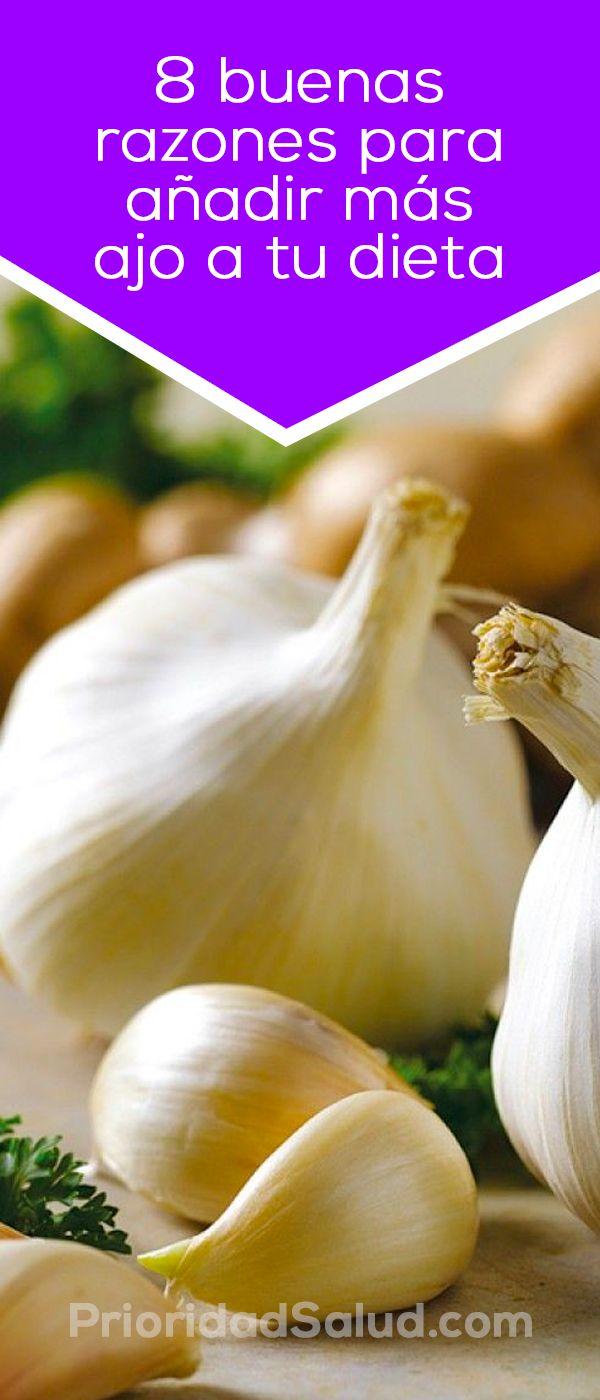 Descubre los beneficios del ajo, sus propiedades extraordinarias y 8 razones para añadirlo a tu dieta.