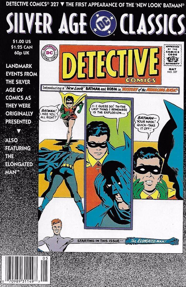 Silver Age Classics Batman Detective Comics issue 327 Classic reprint