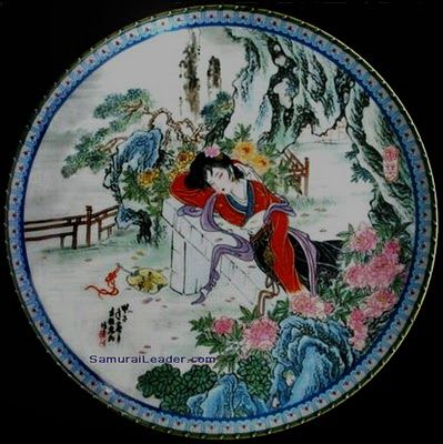 #10 Hsiang-yun  named also in story: 史湘云 or Shi Xiangyun having the meaning Xiang River Clouds
