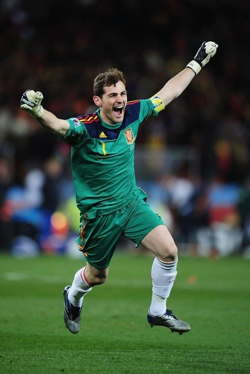 Spain national team goalkeeper Iker Casillas, also of club team Real Madrid, has won every possible major tournament for club and country. A true soccer legend.