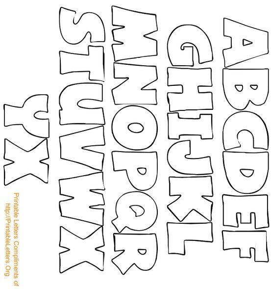 17 Best ideas about Alphabet Letter Templates on Pinterest ...