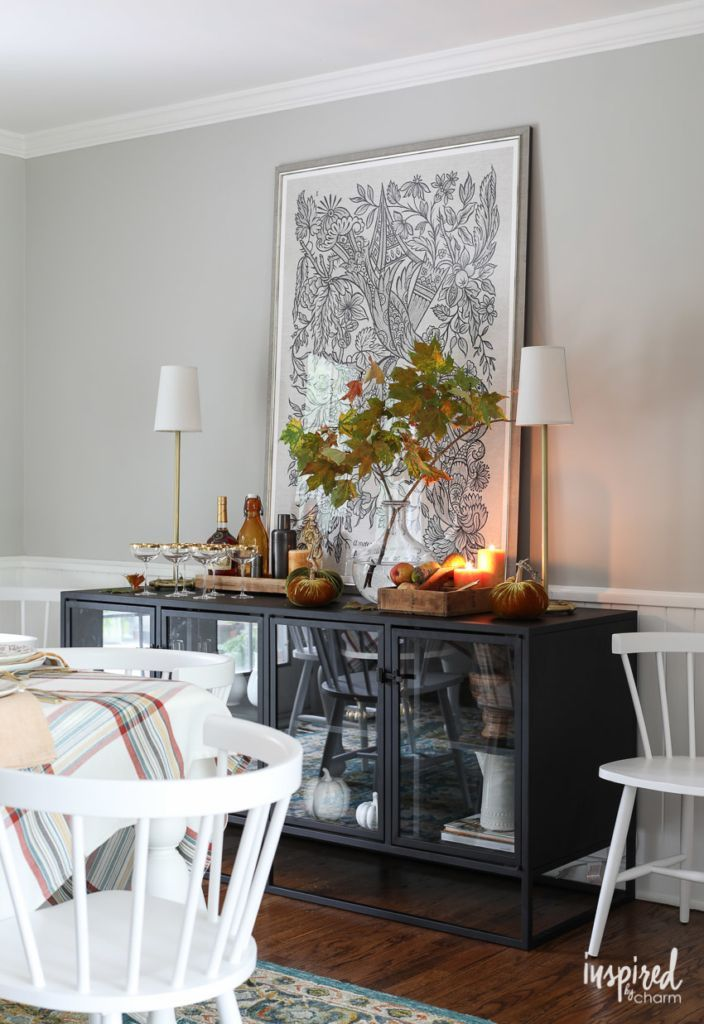 colorful fall decorating ideas for your dining room fall rh pinterest com