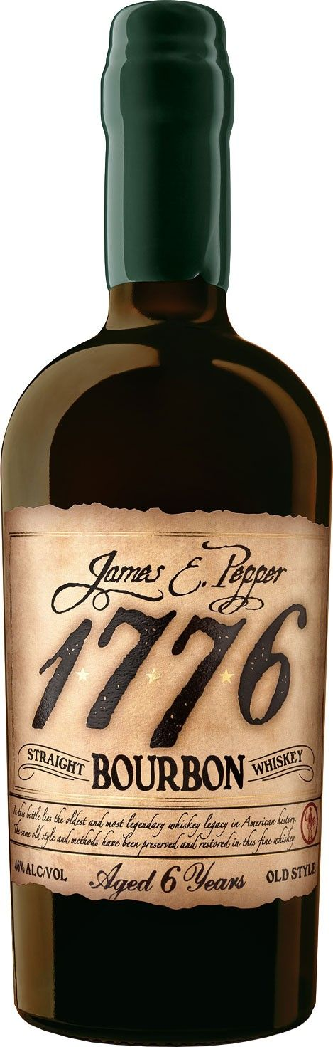 Aged for a minimum of six years, respectively, this bourbon is made in homage to a whiskey that has been produced since the dawn of the American Revolution.
