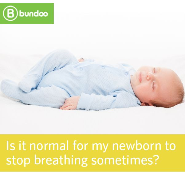 Is It Okay If Your Baby Stops Breathing Occasionally -7189