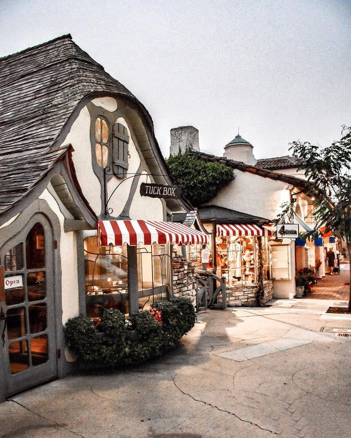 Carmel By The Sea A Beach City In California With Images Beach Cottage Exterior California Homes Carmel By The Sea