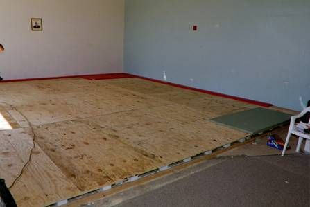 The Quest for the Perfect Judo Floor. Dojos and martial arts gyms