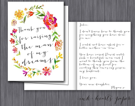 Thank You Letters For Wedding Gifts: 59 Best Images About Mother's Day On Pinterest