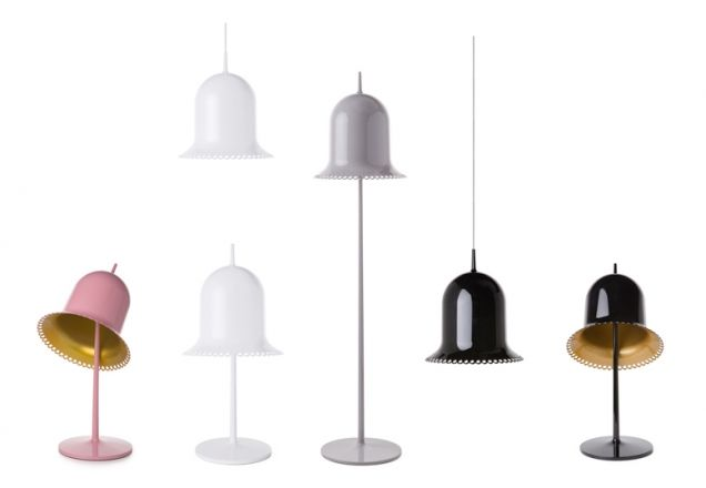 Lolita lamp by Nika Zupanc, produced by Moooi.