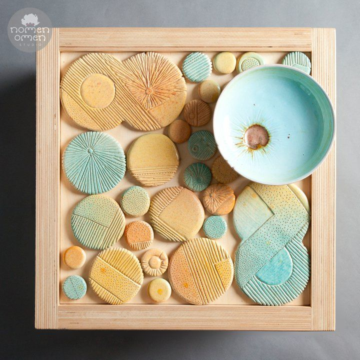 Coffe table ceramic decor