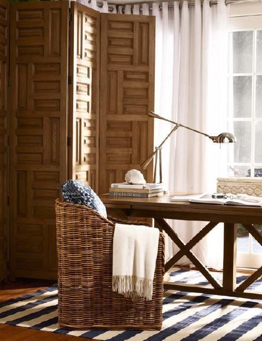 500 best images about wicker on pinterest furniture for Ralph lauren office furniture