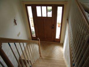 Split Foyer Door : Best home decor split level stairs landing images