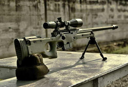 Accuracy International AW MAGNUM .300 win mag / .338 Lapua mag