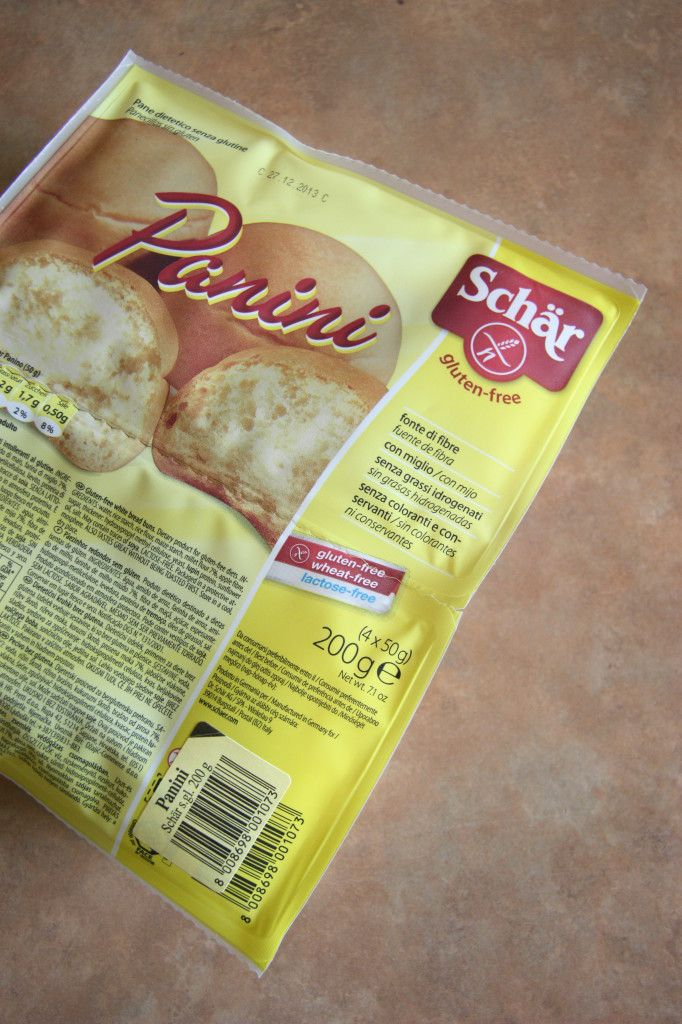 Schär Panini Gluten Free Bread Product Review