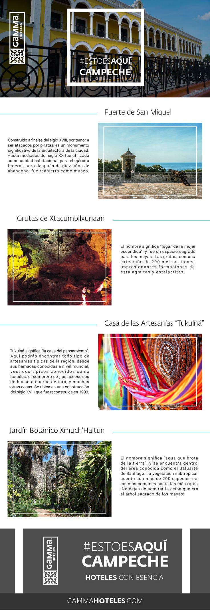 El Estado de Campeche es heredero de una cultura ancestral que data desde hace más de 3,000 años, hospédate en Gamma de Fiesta Inn Campeche Malecón y conoce más. #EstoEsAquí #GammaCampeche