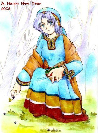 北欧神話/エイル