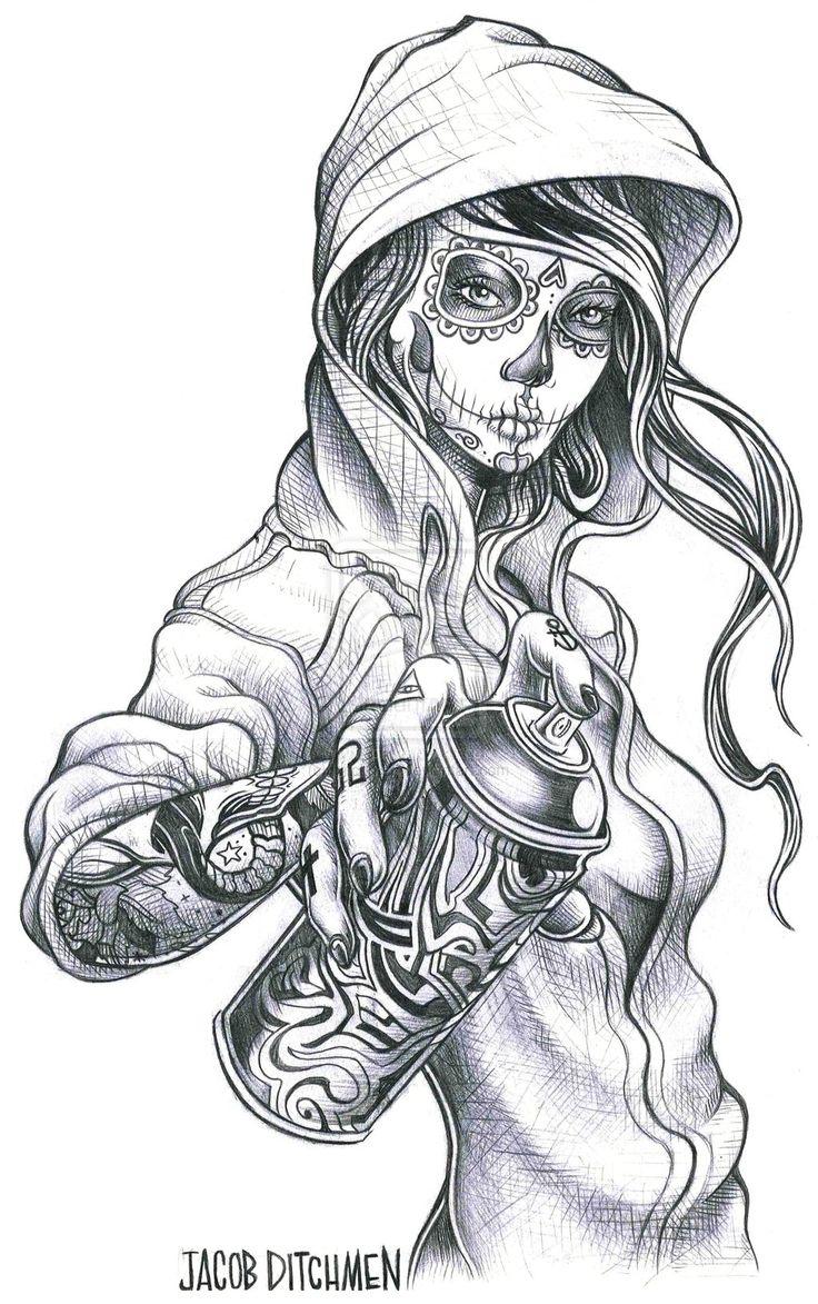 Chicano Art Tattoos | Designs & Interfaces / Tattoo Design ©2011-2013 ~ jditchmen