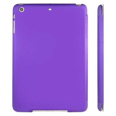 SuprJETech Gold 2 Serial Apple iPad Mini 1,2 and 3 Slim-Fit Folio Smart Case Cover with Auto Sleep/Wake Feature - Purple