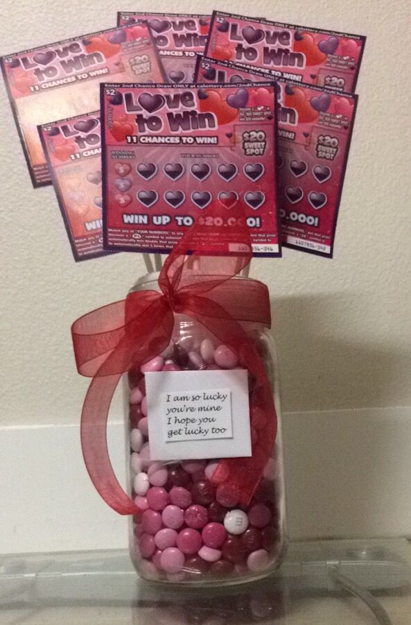 Valentine's Day gift idea: lottery ticket bouquet