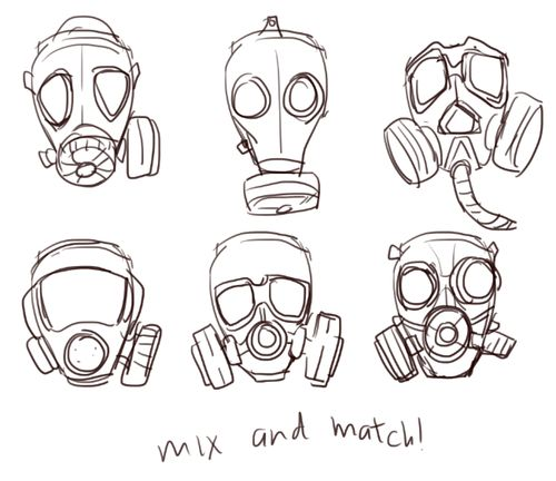 How To Draw A Trippy Skull in addition 121227 moreover How To Draw The Puppet Easy Drawing Sheet furthermore Watch together with 298463. on scary gas mask character