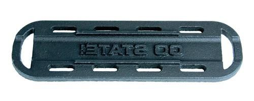 "NCAA """"Go State"""" Hot Dog Cast Iron Branding Grill Iron Accessory"