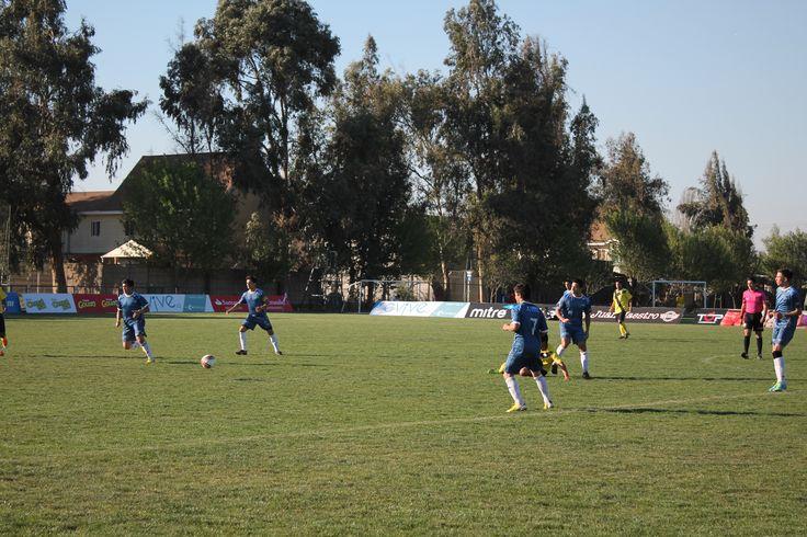 Equipo de fútbol de la Universidad Bernardo O'Higgins jugó la primera fecha de la copa Universia 2013.