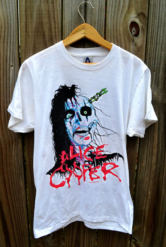 Vintage Alice Cooper Tour 1987-88 Raise Your Fist and Yell ...