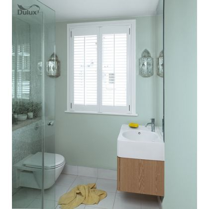 Dulux bathroom mint macaroon soft sheen emulsion paint 50ml tester macaroons mint and for What paint sheen for bathroom