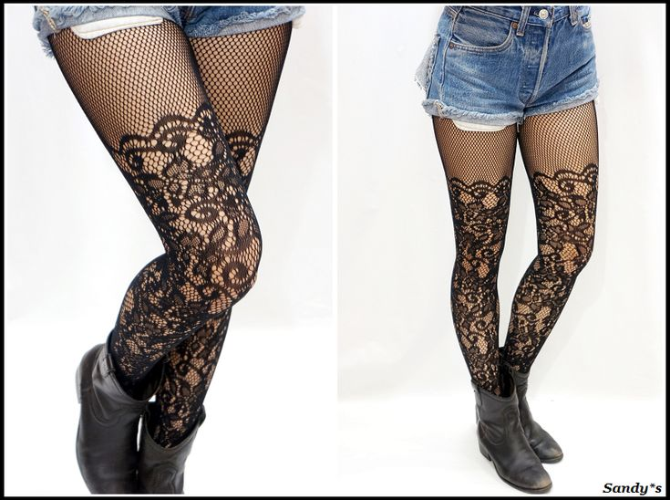 Modern Lace Thigh High Fishnet Pantyhose/ Stockings/ Tights - Hosiery