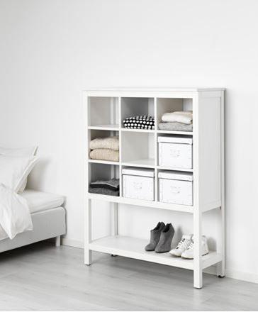 IKEA Deutschland | HEMNES Aufbewahrung ist aus Massivholz, einem strapazierfähigen, lebendigen Naturmaterial.