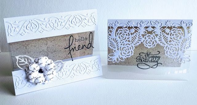 Artdeco Creations Brands: On The Edge Card Set by Jo Simons