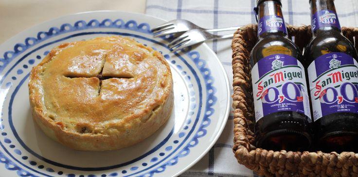 Pastel de carne picada. Receta australiana fácil de aprovechamiento de sobras de carnes picada y verduras. Cómo hacer un pastel de carne tipo empanada.