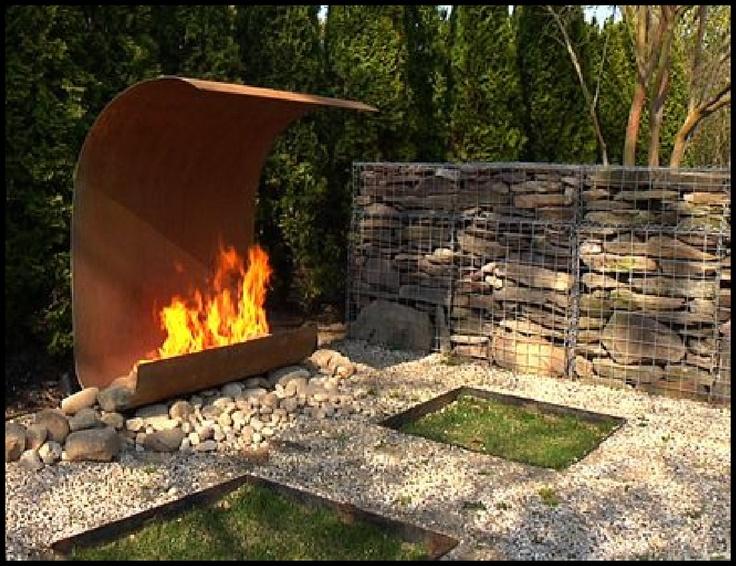 Elena Colombo fireplace design.