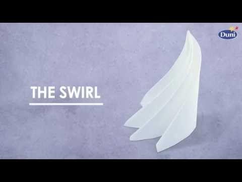 Napkin folding from Duni - Asia - YouTube