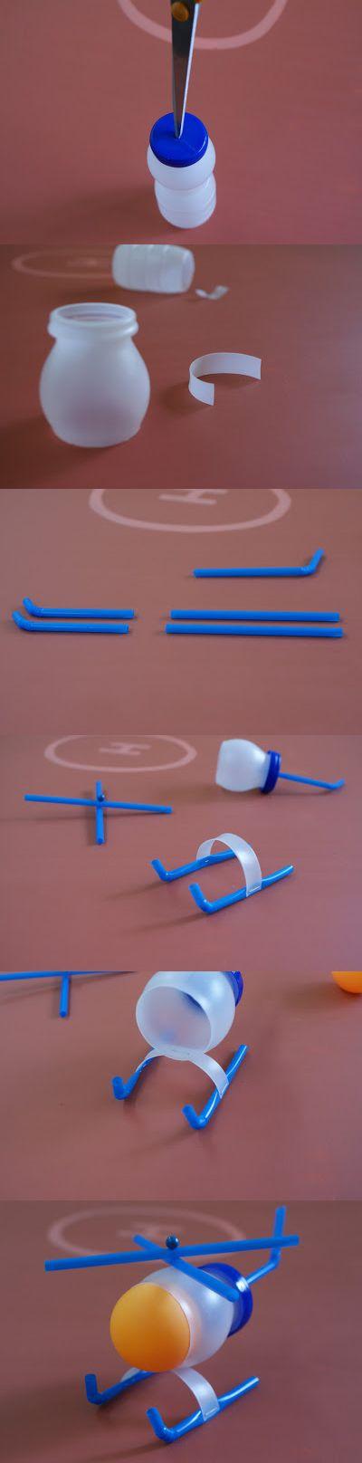 DIY - 5 brinquedos para crianças com materiais reciclados!