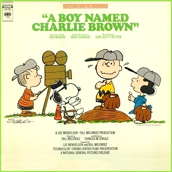 A Boy Named Charlie Brown 1970 Columbia Music From