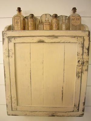 Farmhouse medicine cabinet