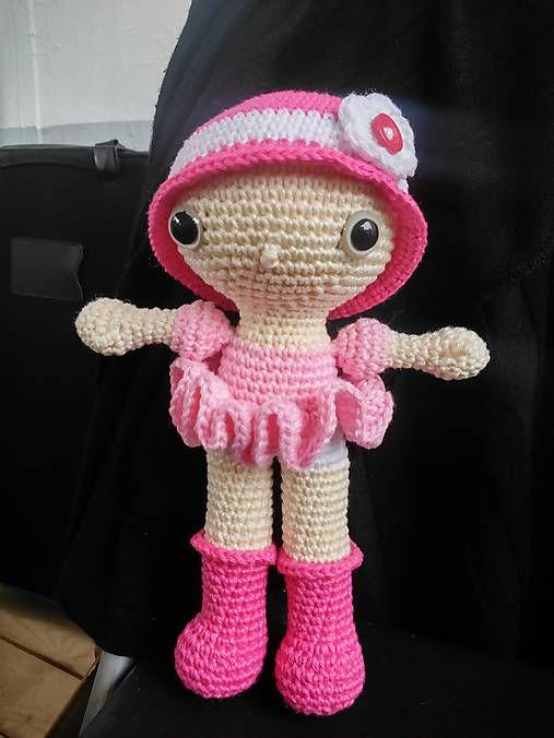 Crochet doll Pinky