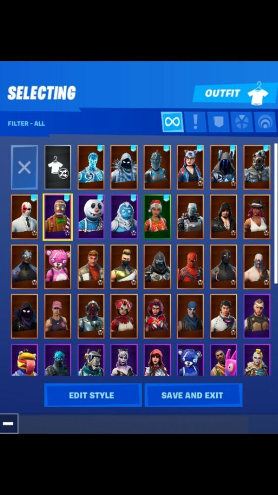 Fortnite Xbox One Account Playing Since Season 4 Tons Of Cool