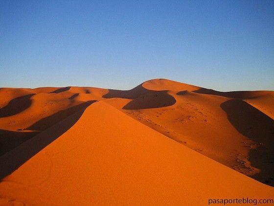 Las dunas del desierto del #sahara #viaje a #Marruecos