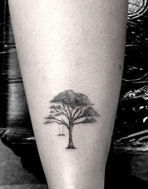 tatuagem arvore pequena - Pesquisa Google