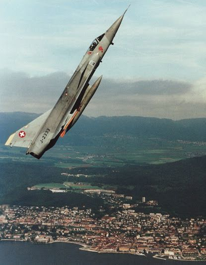 Mirage-lll swiss air force