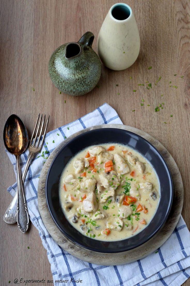 Experimente aus meiner Küche: Putengulasch mit Pilzen und Möhren