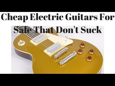 Cheap Electric Guitars For Sale - Electric Guitar City