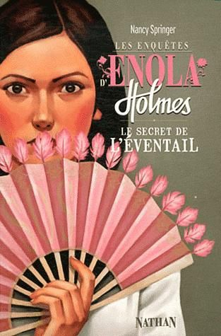 In English, the Secret of the Fan, not the Peculiar Pink Fan like the English version